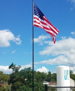 Cone-Tapered-Steel-Flagpole-110'